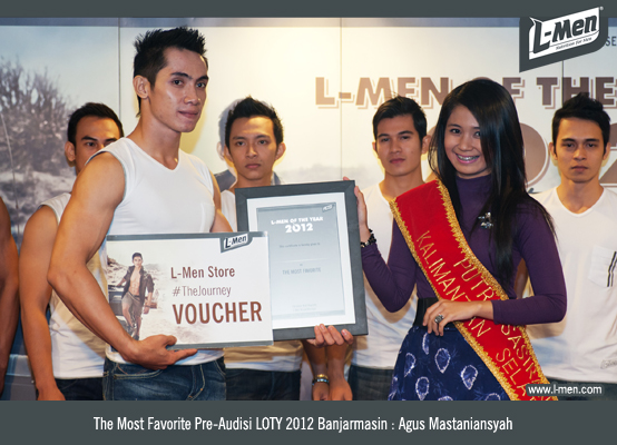 The Most Favorite Pre-Audisi LOTY 2012 Banjarmasin: Agus Mastaniansyah