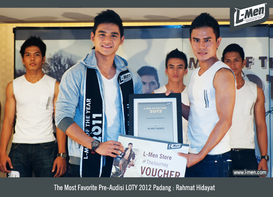 The Most Favorite Pre-Audisi LOTY 2012 Padang: Rahmat Hidayat
