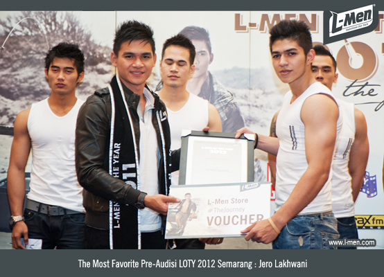 The Most Favorite Pre-Audisi LOTY 2012 Semarang: Jero Lakhwani