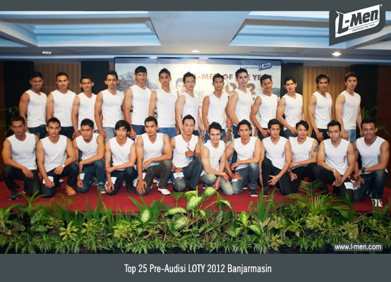 Top 25 Pre-Audisi LOTY 2012 Banjarmasin