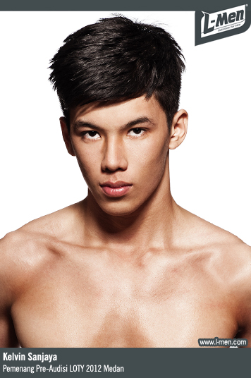 Kelvin Sanjaya - Pemenang Pre-Audisi L-Men of the Year 2012 Medan