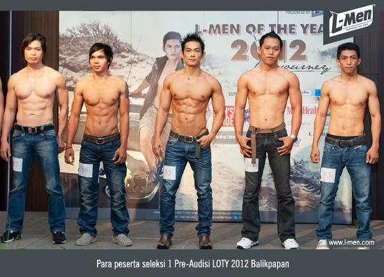 Para peserta seleksi 1 Pre-Audisi LOTY 2012 Balikpapan