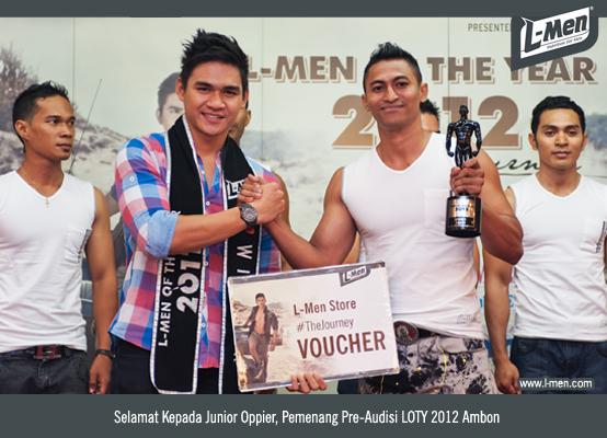 Selamat Kepada Junior Oppier, Pemenang Pre-Audisi LOTY 2012 Ambon