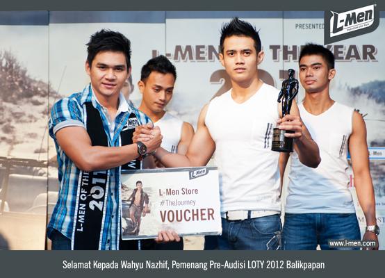 Selamat Kepada Wahyu Nazhif, Pemenang Pre-Audisi LOTY 2012 Balikpapan