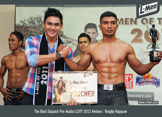 The Best Sixpack Pre-Audisi LOTY 2012 Ambon : Yongky Kappuw