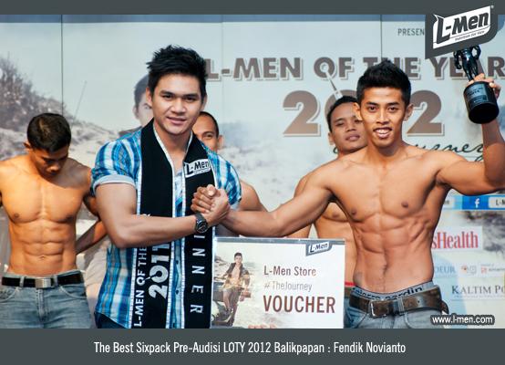 The Best Sixpack Pre-Audisi LOTY 2012 Balikpapan: Fendik Novianto