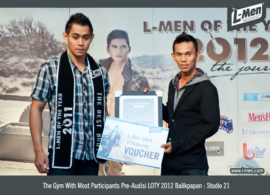 The Gym With Most Participants Pre-Audisi LOTY 2012 Balikpapan: Studio 21
