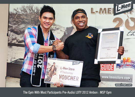 The Gym With Most Participants Pre-Audisi LOTY 2012 Ambon : MSP Gym