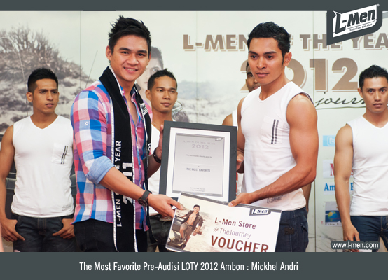 The Most Favorite Pre-Audisi LOTY 2012 Ambon: Mickhel Andri