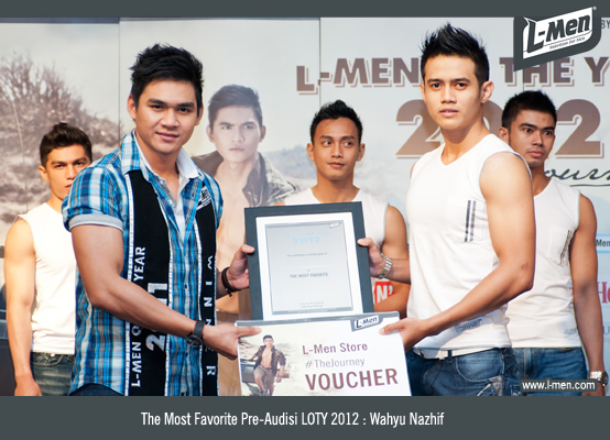 The Most Favorite Pre-Audisi LOTY 2012 Balikpapan: Wahyu Nazhif