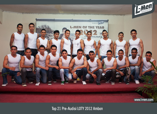 Top 21 Pre-Audisi LOTY 2012 Ambon