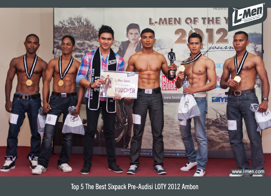 Top 5 The Best Sixpack Pre-Audisi LOTY 2012 Ambon