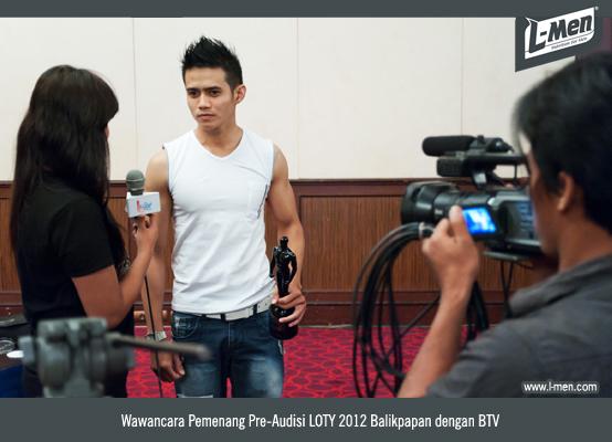 Wawancara Pemenang Pre-Audisi LOTY 2012 Balikpapan dengan BTV
