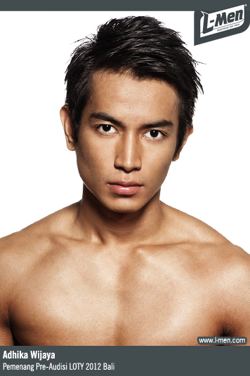 Adhika Wijaya - Pemenang Pre-Audisi L-Men of the Year 2012 Bali