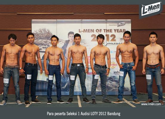 Para peserta Seleksi 1 Audisi LOTY 2012 Bandung
