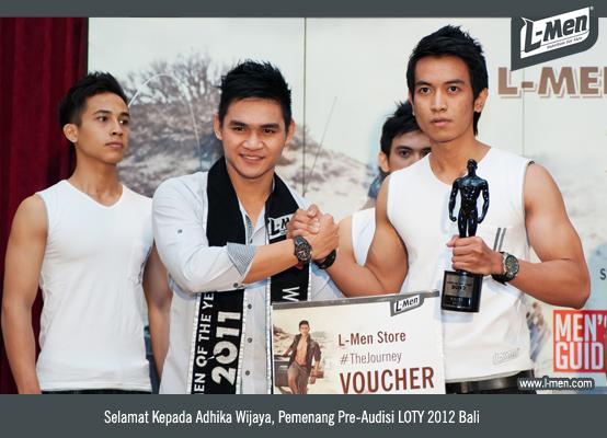 Selamat Kepada Adhika Wijaya, Pemenang Pre-Audisi LOTY 2012 Bali