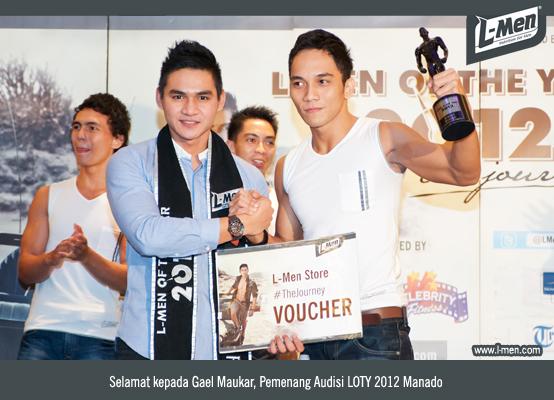 Selamat kepada Gael Maukar, Pemenang Audisi LOTY 2012 Manado