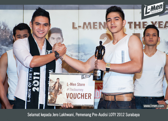 Selamat Kepada Jero Lakhwani, Pemenang Pre-Audisi LOTY 2012 Surabaya