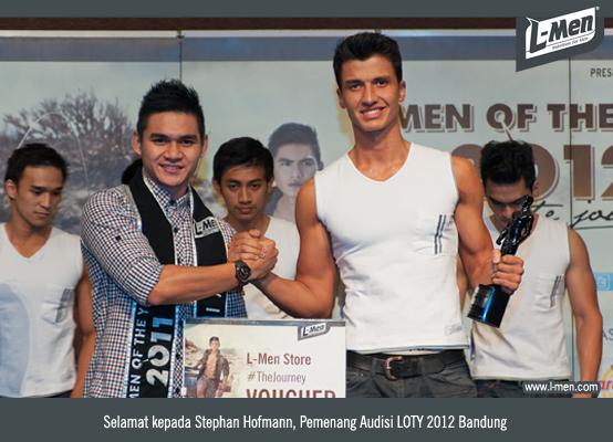 Selamat kepada Stephan Hoffman, Pemenang Audisi LOTY 2012 Bandung
