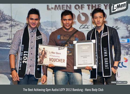 The Best Achieving Gym Audisi LOTY 2012 Bandung: Hans Body Club