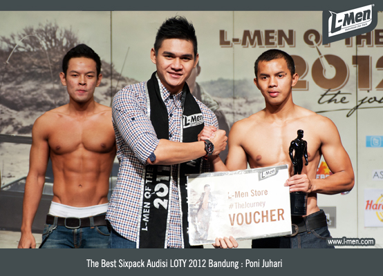 The Best Sixpack Audisi LOTY 2012 Bandung: Poni Juhari