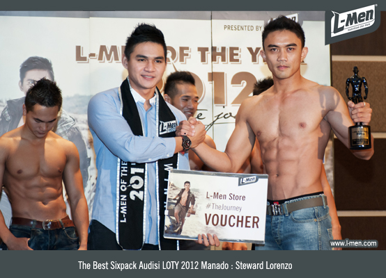 The Best Sixpack Audisi LOTY 2012 Manado: Steward Lorenzo