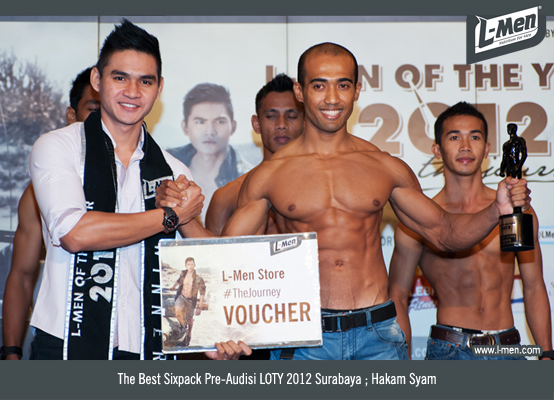 The Best Sixpack Pre-Audisi LOTY 2012 Surabaya: Hakam Syam