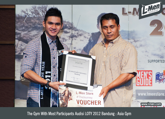 The Gym With Most Participants Audisi LOTY 2012 Bandung: Asia Gym