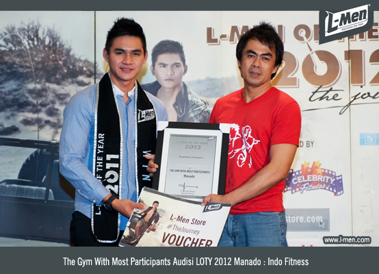 The Gym With Most Participants Audisi LOTY 2012 Manado