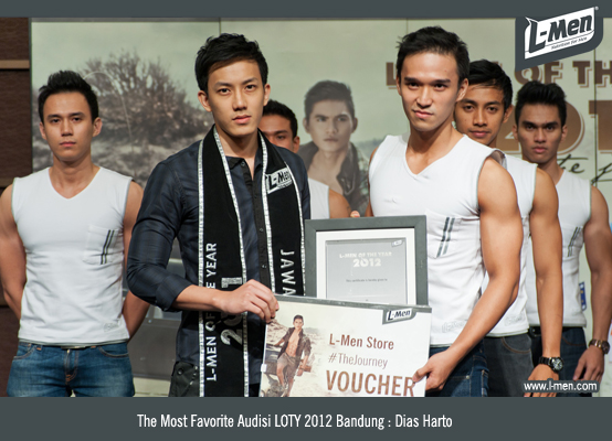The Most Favorite Audisi LOTY 2012 Bandung: Dias Harto