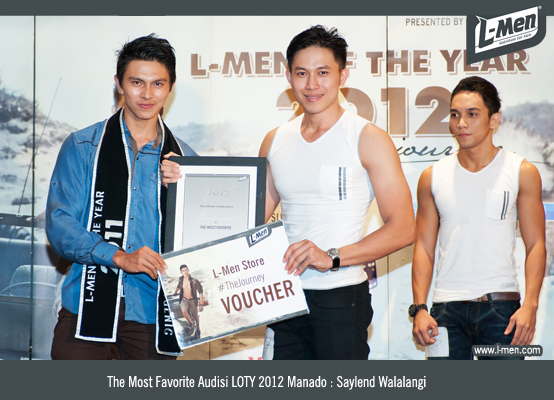 The Most Favorite Audisi LOTY 2012 Manado: Saylend Walalangi