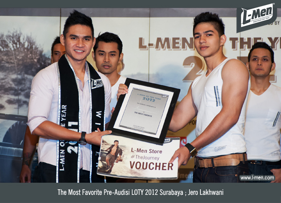 The Most Favorite Pre-Audisi LOTY 2012 Surabaya: Jero Lakhwani