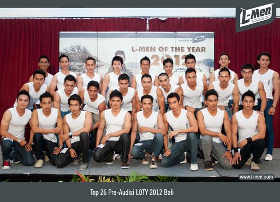 Top 26 Pre-Audisi LOTY 2012 Bali