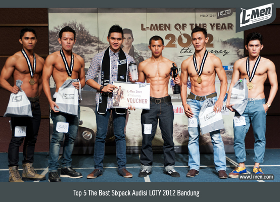 Top 5 The Best Sixpack Audisi LOTY 2012 Bandung