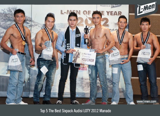 Top 5 The Best Sixpack Audisi LOTY 2012 Manado