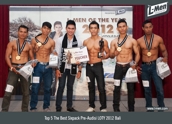 TOP 5 The Best Sixpack Pre-Audisi LOTY 2012 Bali