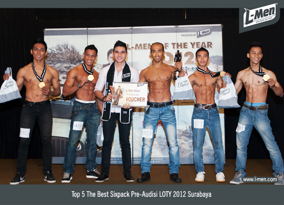 TOP 5 The Best Sixpack Pre-Audisi LOTY 2012 Surabaya