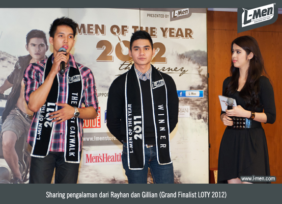 Sharing pengalaman dari Rayhan dan Gillian (Grand Finalist LOTY 2012)