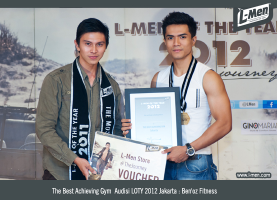 The Best Achieving Gym  Audisi LOTY 2012 Jakarta: Ben'oz Fitness