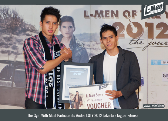 The Gym With Most Participants Audisi LOTY 2012 Jakarta: Jaguar Fitness