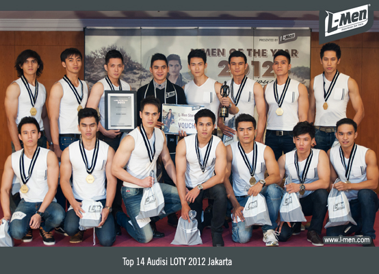 Top 14 Audisi LOTY 2012 Jakarta