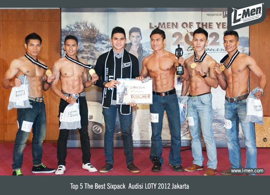 The Best Sixpack Audisi LOTY 2012 Jakarta: llham Yulizard