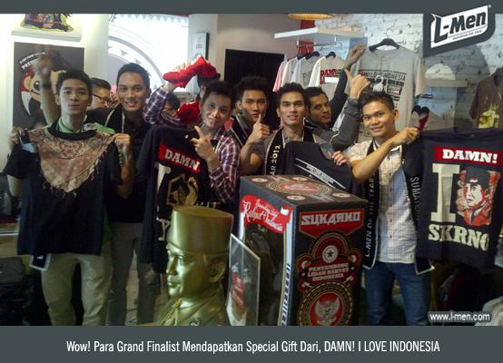 Wow! Para Grand Finalist Mendapatkan Special Gift Dari, DAMN! I LOVE INDONESIA