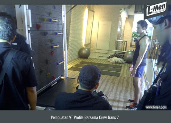 Pembuatan VT Profile Bersama Crew Trans 7