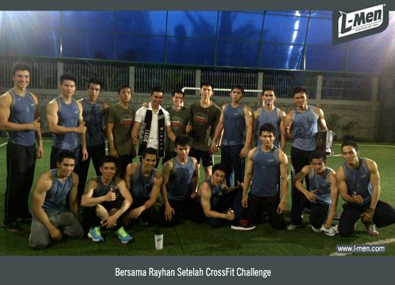 Bersama Rayhan Setelah CrossFit Challenge