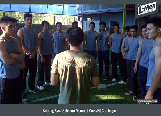 Briefing Awal Sebelum Memulai CrossFit Challenge