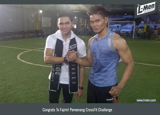 Congrats To Fajrin! Pemenang CrossFit Challenge