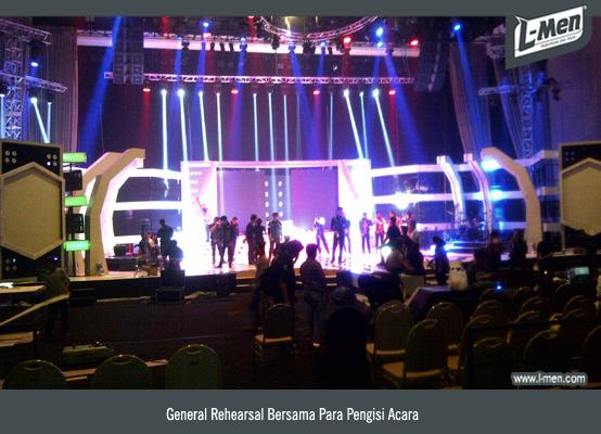 General Rehearsal Bersama Para Pengisi Acara