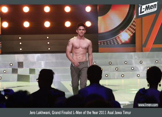 Jero Lakhwani, Grand Finalist L-Men of the Year 2012 Asal Jawa Timur