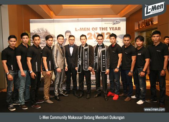 L-Men Community Makassar Datang Memberi Dukungan